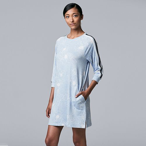 Women's Simply Vera Vera Wang Crewneck Sleepshirt