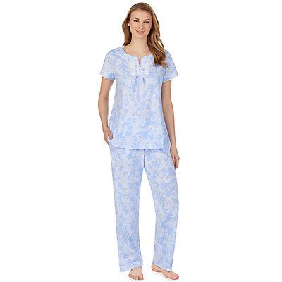 Women's Aria Short Sleeve Knit Pajama Set