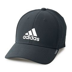 ba9bf3f2cda Men s adidas Gameday II Stretch Hat. Black White Onyx