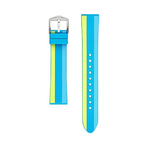 Fossil Women's 18 mm Waterfront Stripe Silicone Watch Strap