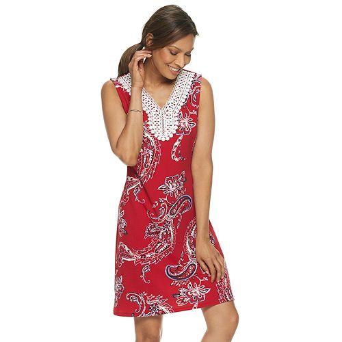 Women's Dana Buchman Sleeveless Lace Dress