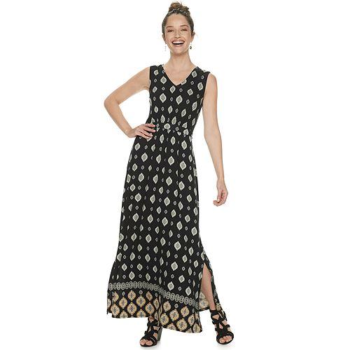 Women's Dana Buchman Sleeveless Maxi Dress