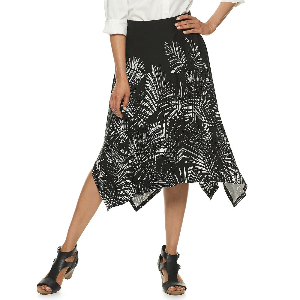 Women's Dana Buchman Sharkbite Skirt