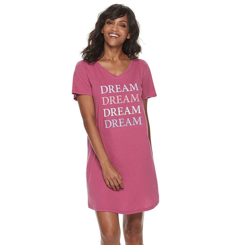 Women's SONOMA Goods for Life® Basic Sleep Tee