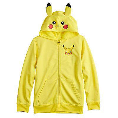 Boys 8-20 Pokemon Pikachu Costume Hoodie