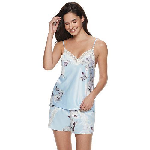 Women's Apt. 9® Satin Cami Top & Pajama Shorts Set