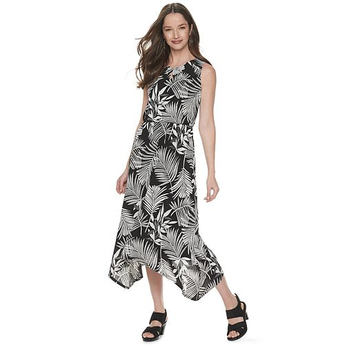 Women's Dana Buchman Sleeveless Sharkbite Dress
