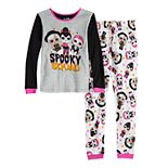 Girls 4-10 L.O.L Surprise! Glow-in-the-Dark Top & Bottom Pajama Set