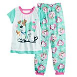 Girls 4-10 Secret Life of Pets Pajama Set