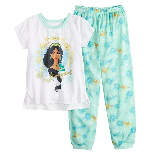 Girls 4-10  Disney's Jasmine Pajama Set