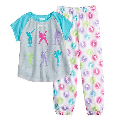 Girls 8-14 Fortnite Pajama Set