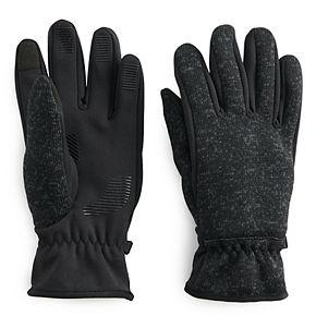 Men's Heat Keep Heat Last Sweater Knit Packable Gloves