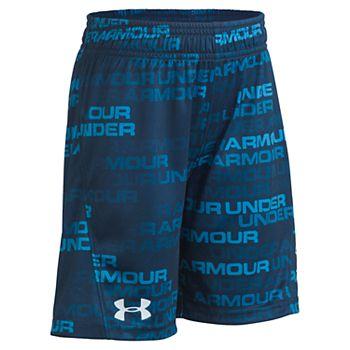 Boys 4-7 Under Armour Wordmark Fade Boost Shorts