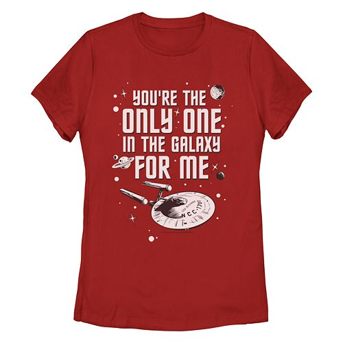 Junior's Star Trek: The Original Series Only One For Me Missy Crew Tee