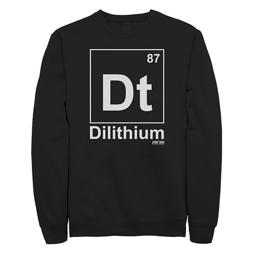 Junior's Star Trek: The Original Series Dilithium Element Crew Fleece