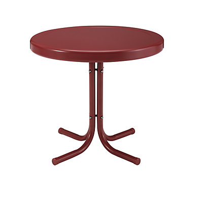 Crosley Furniture Retro Metal Side Table
