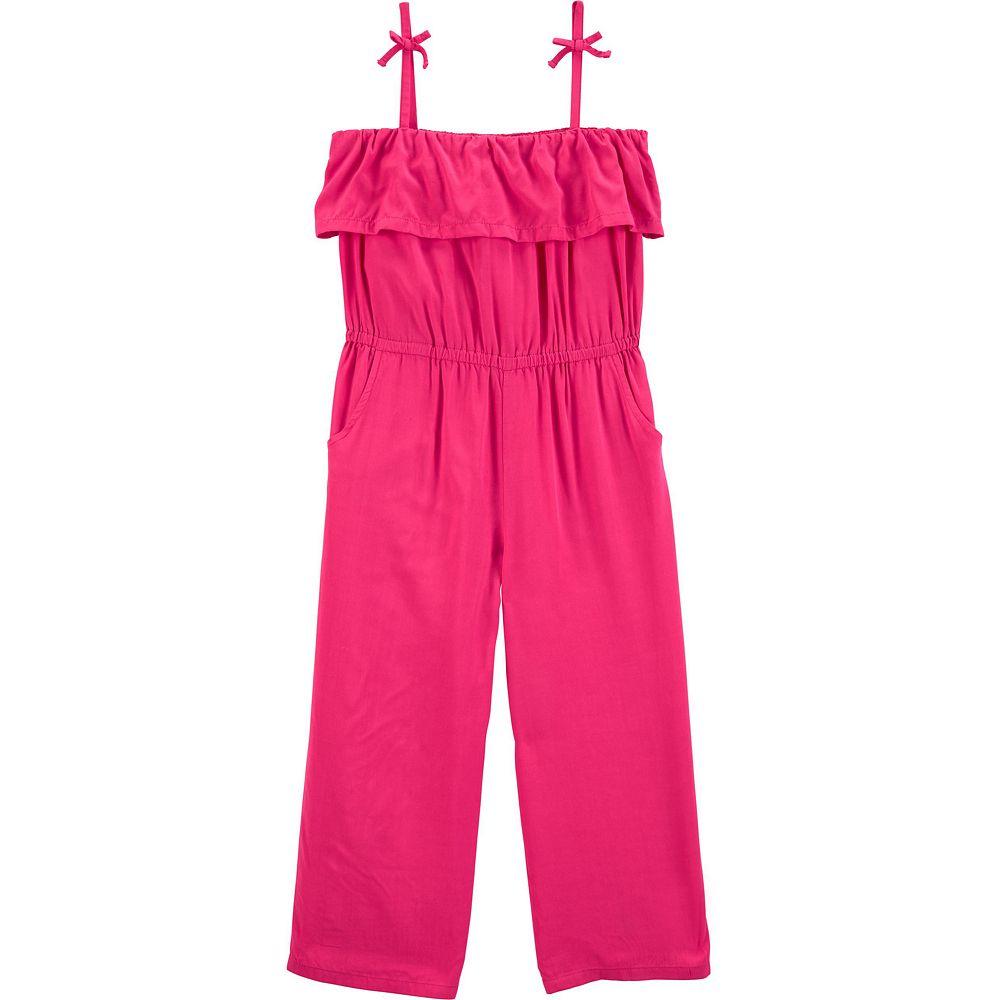 Toddler Girls Carter's Ruffled Jumpsuit