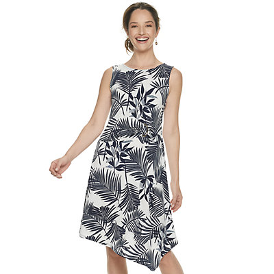 Women's Dana Buchman Sleeveless Asymmetrical Dress