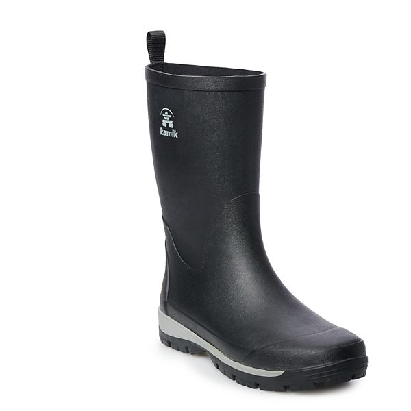Kamik Lars Men's Waterproof Rain Boots