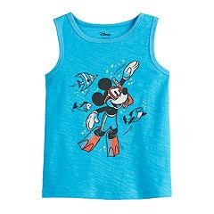 0517506a5 Disney's Mickey Mouse Toddler Boy Snorkeling Tank Top by Jumping Beans®