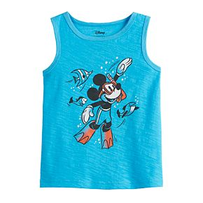 Disney's Mickey Mouse Toddler Boy Snorkeling Tank Top by Jumping Beans®