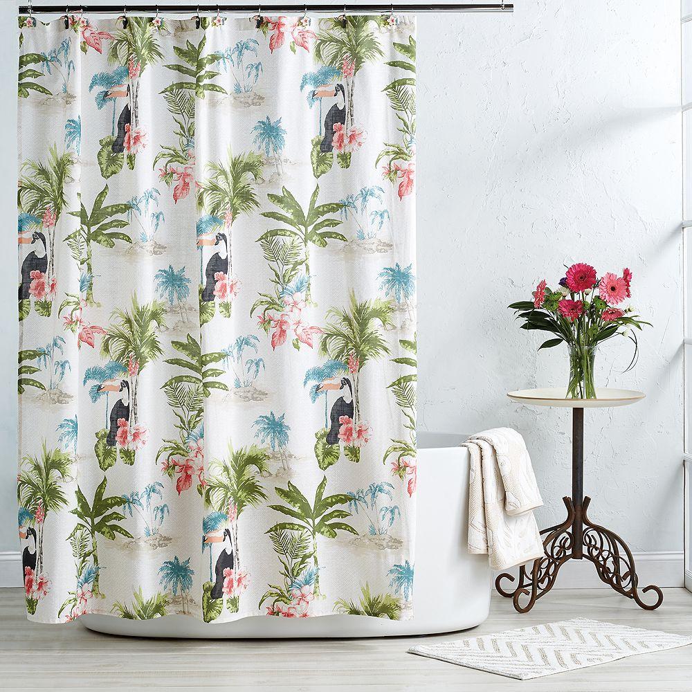 Destinations Toucan Shower Curtain