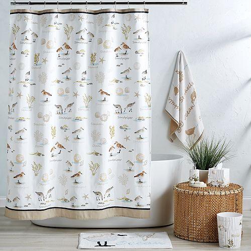 Destinations Bird Haven Shower Curtain