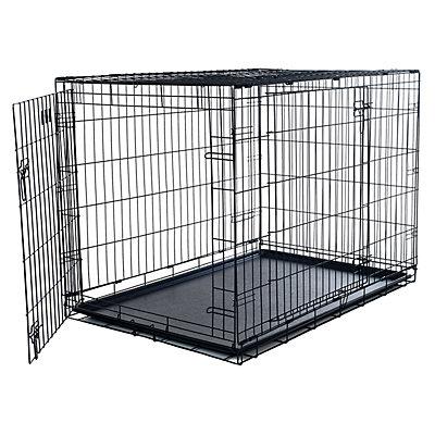 PetMaker 2-Door Foldable Dog Cage