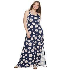 Juniors' SO® Plus Maxi Dress