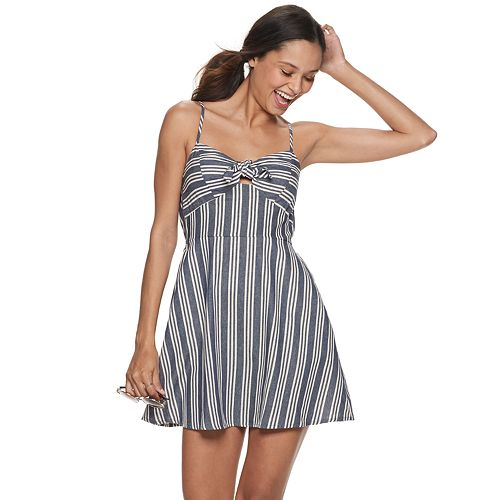 Juniors' Speechless Spaghetti Strap Dress