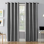 Sun Zero 1-panel Cameron Total Blackout Thermal Insulated Window Curtain