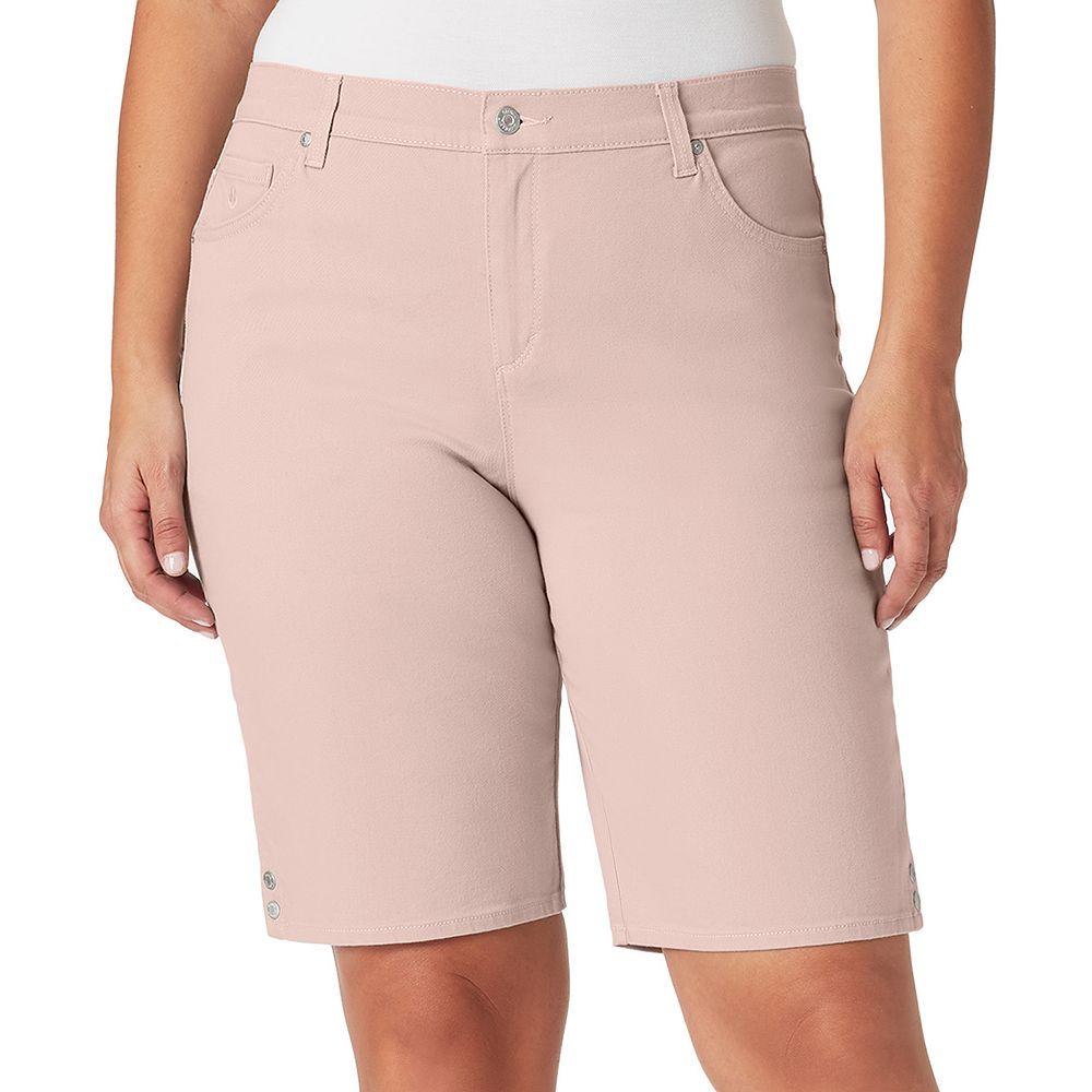 Plus Size Gloria Vanderbilt Amanda Bermuda Jean Shorts