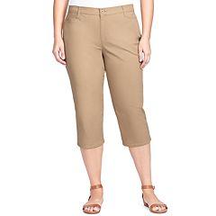 Plus Size Gloria Vanderbilt Amanda Trouser Capris