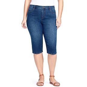 Plus Size Gloria Vanderbilt Amanda Skimmer Capris