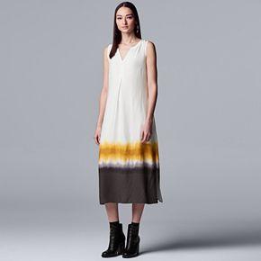Women's Simply Vera Vera Wang Easy Rayon Challis Dress