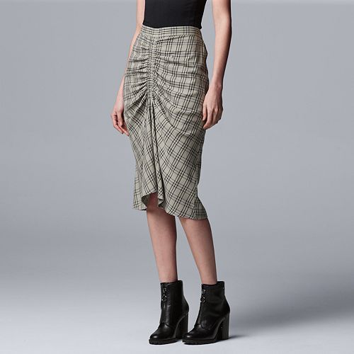 Women's Simply Vera Vera Wang Rouched Skirt