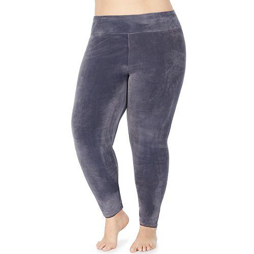 Plus Size Cuddl Duds® Double Plush Velour Legging