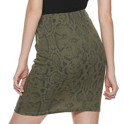 Juniors' SO Simple Bodycon Skirt