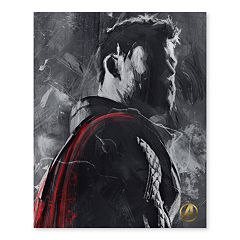 Artissimo Designs Marvel Avengers Thor Canvas Wall Art