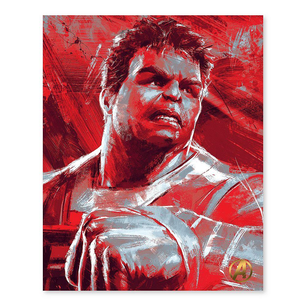 Artissimo Designs Marvel Avengers Hulk Canvas Wall Art