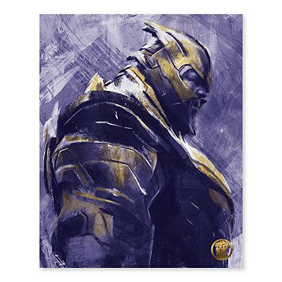 Artissimo Designs Marvel Avengers Thanos Canvas Wall Art