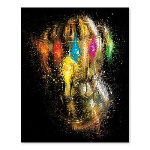 Artissimo Designs Marvel Avengers Infinity Gauntlet Canvas Wall Art