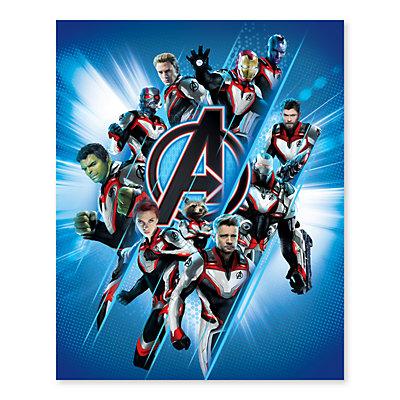 Artissimo Designs Marvel Avengers New Suit Burst Canvas Wall Art