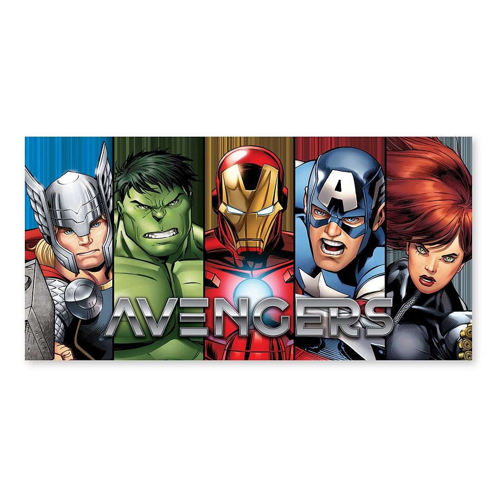 Artissimo Designs Marvel Avengers Split Panel Canvas Wall Art