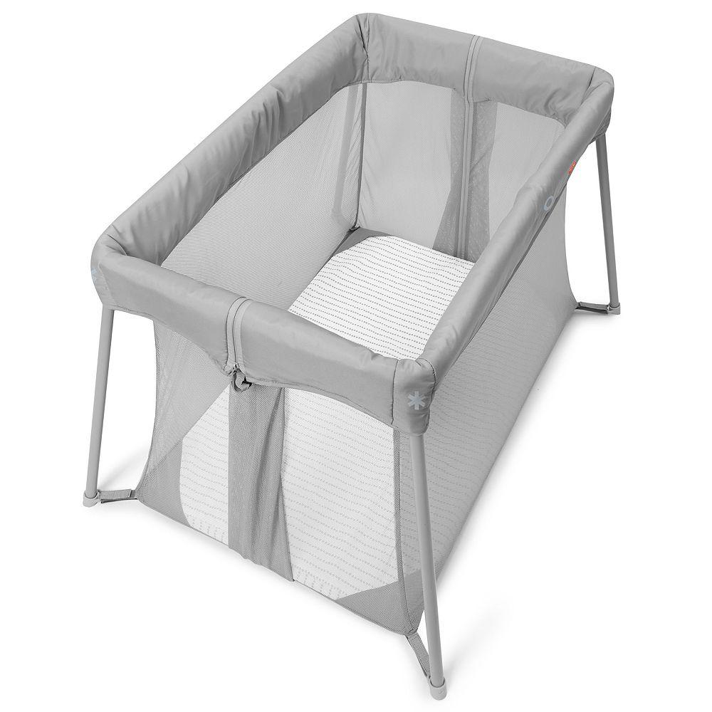 Skip Hop Play-To-Night Expanding Grey/Clouds Travel Crib