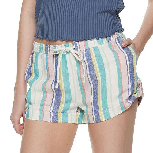 Juniors' SO® Linen Soft Shorts