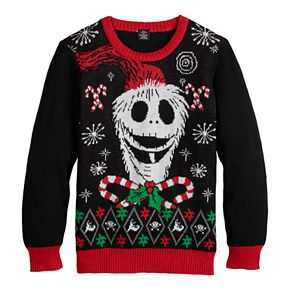Disney's The Nightmare Before Christmas Boys 8-20 Ugly Christmas Sweater