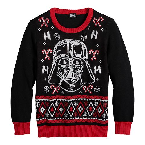 Boys 8-20 Star Wars Darth Vader Ugly Christmas Sweater