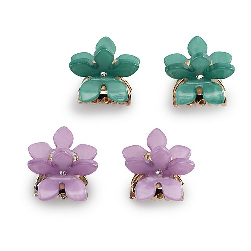 Women's SO® Flower Shape Claw Clips