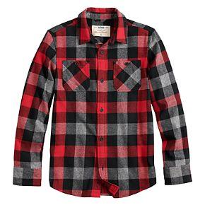 Boys 8-20 Urban Pipeline? Flannel Button-Down Shirt